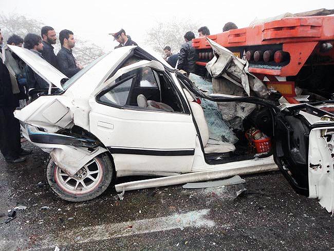 کاهش کشتههای تصادفات جادهای برای ششمین سال متوالی در کشور