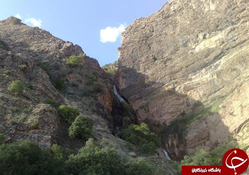 آبشار نوژیان لرستان بلند ترین آبشار ایران + تصاویر