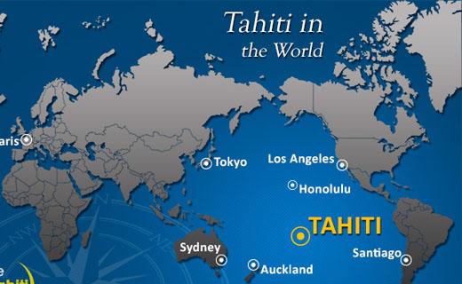 کشور تاهیتی در کدام قاره است؟
