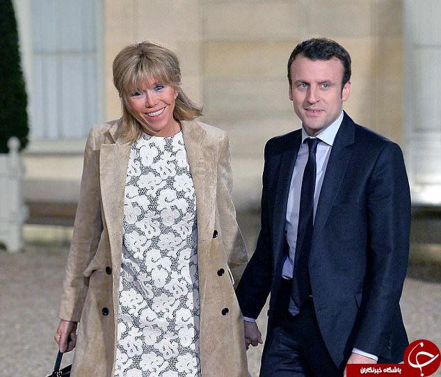 رئیس جمهور و بانوی جدید کاخ الیزه را بیشتر بشناسید؟+ تصاویر