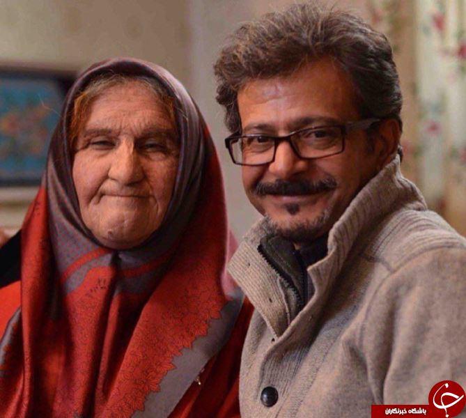 وقتی محسن تنابنده پیرزن می شود! +عکس