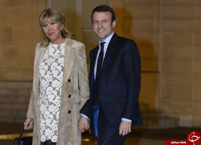 حقایقی جالب درباره همسر رئیس جمهور جدید فرانسه +عکس