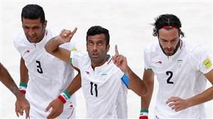ایران 5 - ایتالیا 3/تیم ملی فوتبال ساحلی ایران بر سکوی سوم جام جهانی ایستاد