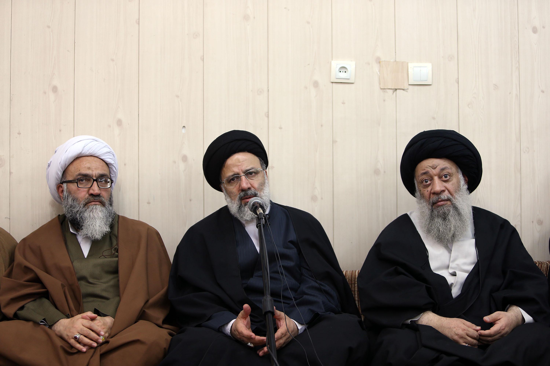 دیدار حجتالاسلام رئیسی با نماینده ولیفقیه در خوزستان