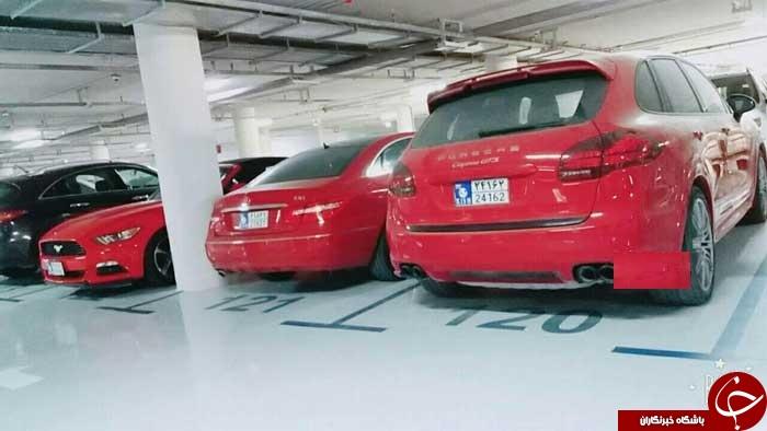 پارکینگ میلیاردی در جزیره کیش! +عکس