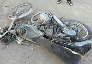 مرگ راکب جوان موتور سیکلت در فریدن