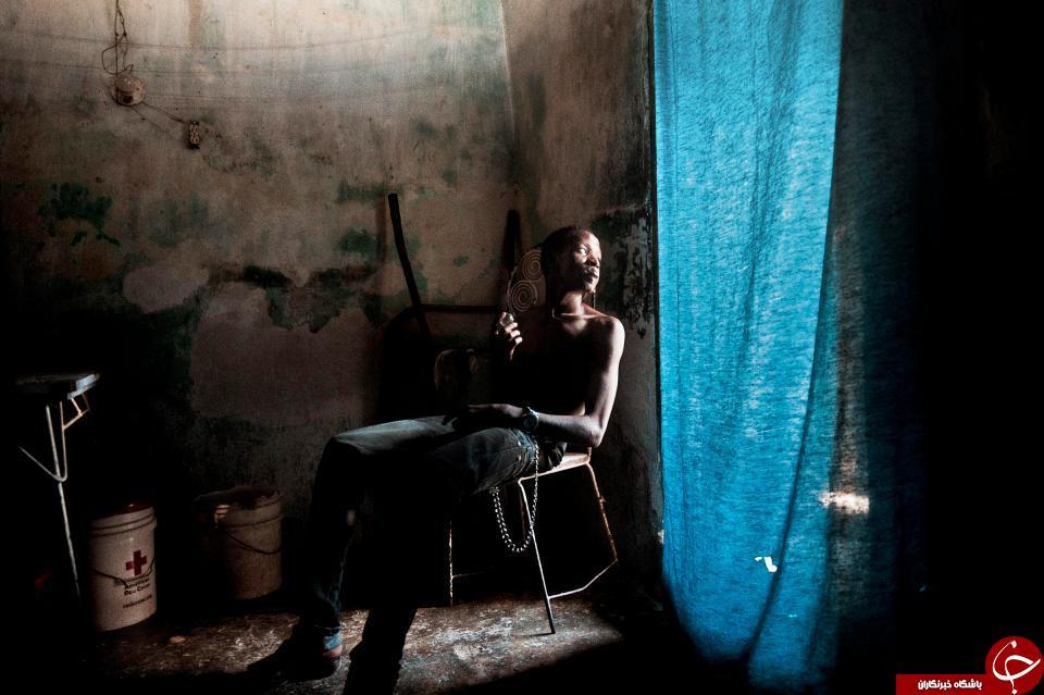 رسمی عجیب در میان مردم هائیتی + تصاویر