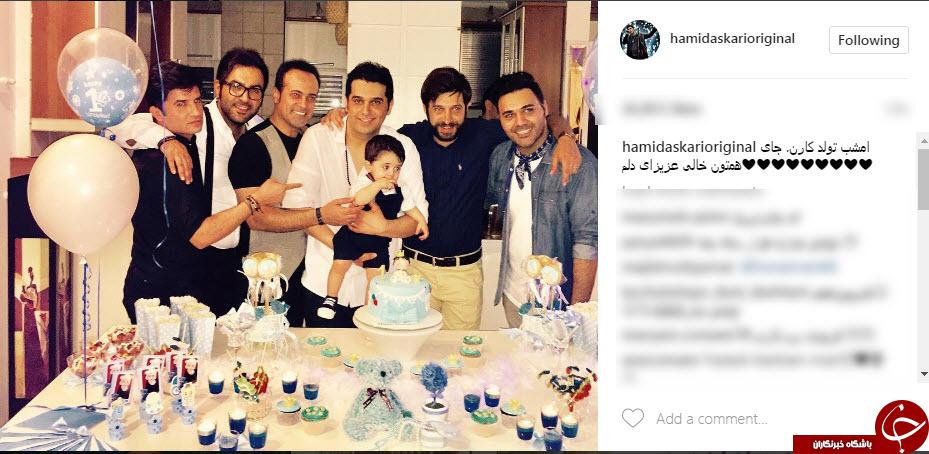 جشن تولد پسرِ خواننده معروف+عکس