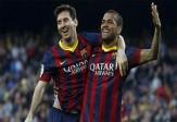 باشگاه خبرنگاران -تیکی تاکاهای دیدنی مسی و آلوز در بارسلونا + فیلم