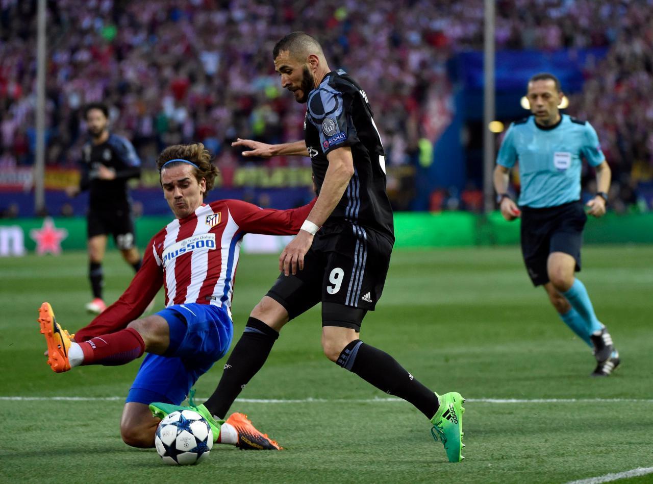 اتلتیکو مادرید 2(2) - رئال مادرید 1(4)/تکرار فینال 98 در کاردیف