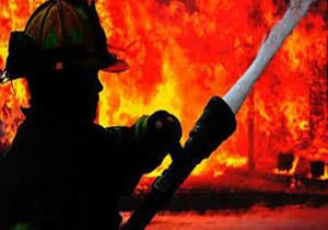 آمار مجروحان آتشنشان در آتشسوزی پاساژ رضوان اهواز به ۸ تن رسید