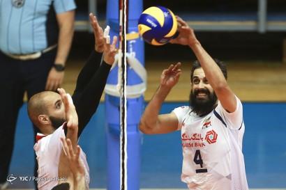 دیدار تیمهای والیبال ایران و مونته نگرو