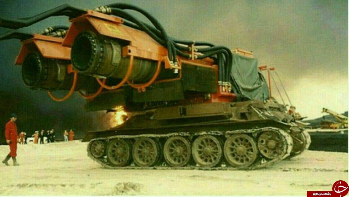 تانک آتش نشان + عکس