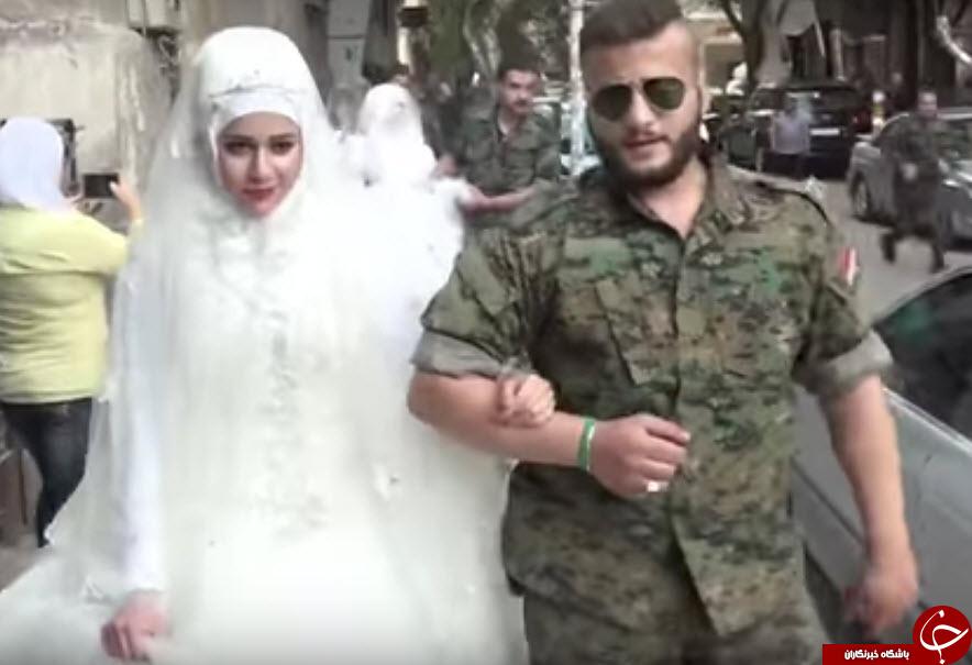 برگزاری بزرگترین جشن عروسی جمعی در سوریه+تصاویر