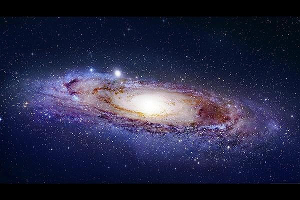پیش بینی برخورد کهکشان راه شیری به همتای خود +فیلم