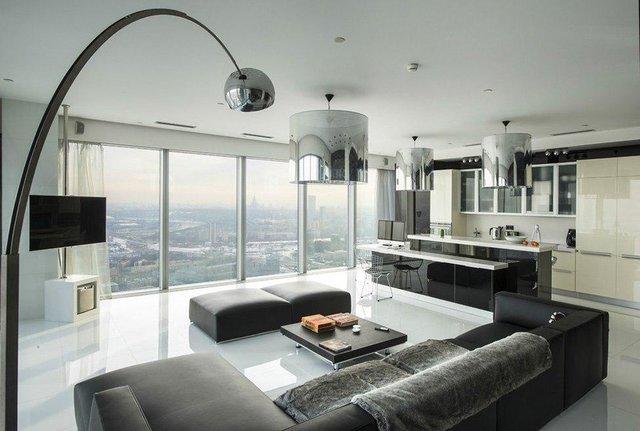 گرانترین آپارتمانهای مسکو +تصاویر