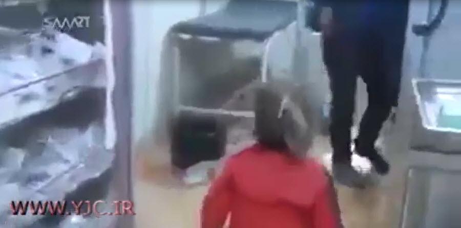 دختر سوری قربانی قاچاقچیان اعضای بدن +فیلم