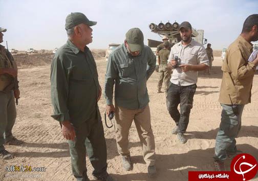 هادی العامری در عملیات آزادسازی القیروان + تصاویر
