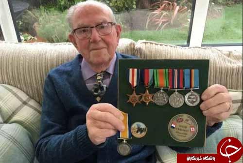 کهنه سرباز جنگ جهانی دوم رکورددار شد+ تصاویر