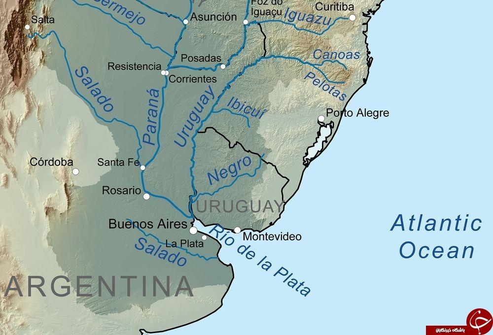 وسیع ترین رودخانه ای که تا به حال دیده اید