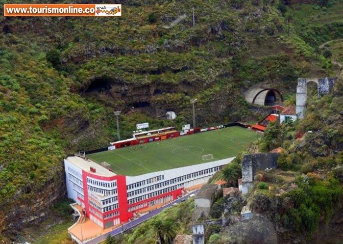 عجیب ترین استادیوم های فوتبال در جهان +تصاویر