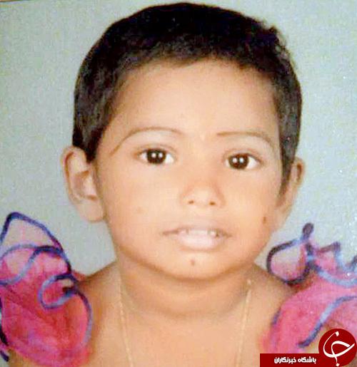 مرگ معماگونه دختر 3 ساله هندی / تصاویر18+