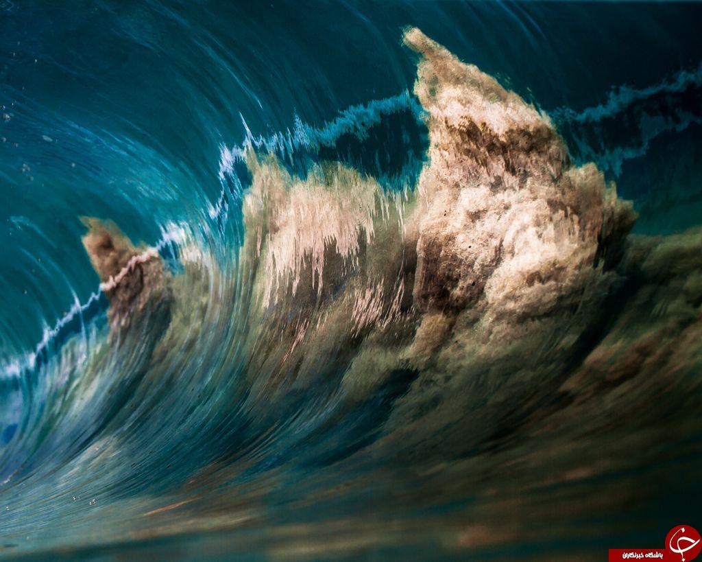 عکس روز نشنال جئوگرافی / موج شنی
