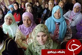 کشوری که مردانش مورد آزار و اذیت زنان قرار می گیرند!+تصاویر