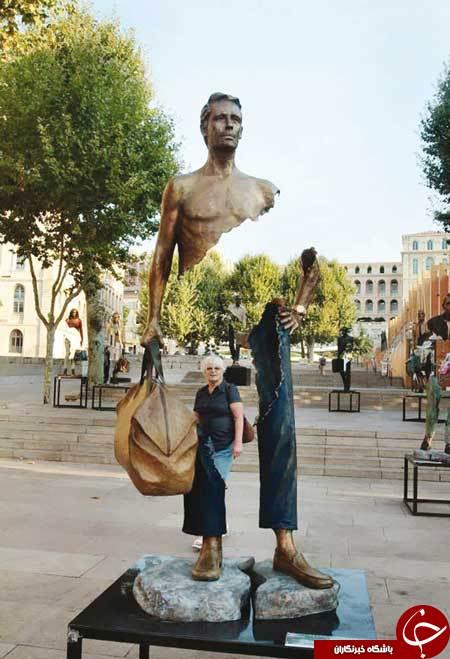 مجسمه عجیب + عکس