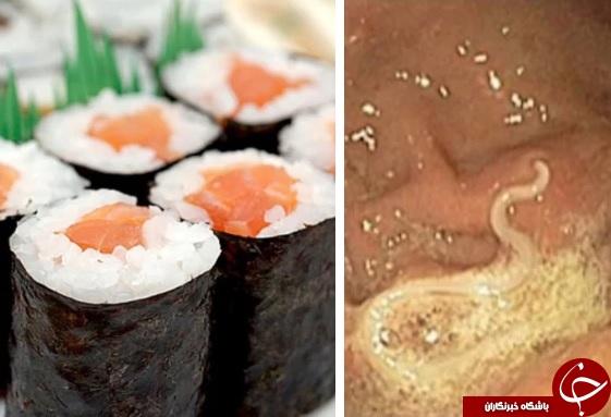 خوردن این غذای پرطرفدار بدنتان را پر از کرم میکند + تصاویر