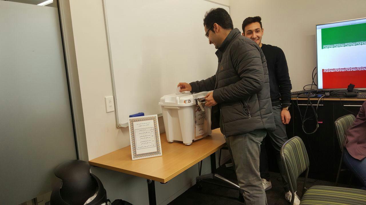 آغاز رایگیری دوازدهمین دوره انتخابات ریاستجمهوری ایران در کشورهای مختلف
