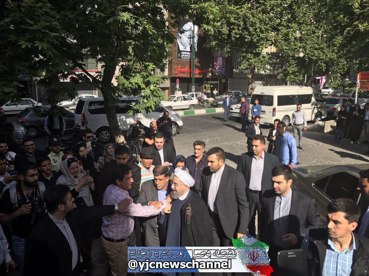 نامزدهای انتخابات ریاست جمهوری آرای خود را در کدام مناطق تهران به صندوق انداختند؟