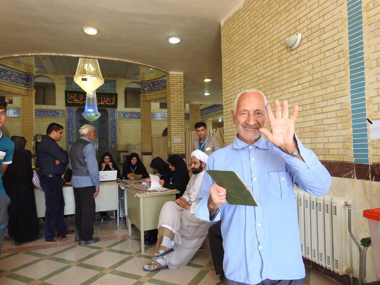 میزان مشارکت بالای مردم شهربابک در انتخابات