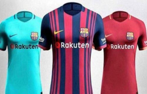 طرح پیراهن های جدید بارسلونا لو رفت