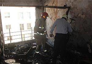 باشگاه خبرنگاران -آتش سوزی منزل مسکونی در نیاوران/ حادثه خسارت مالی سنگینی بر جای گذاشت
