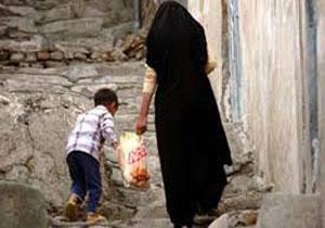 زندگی بخور و نمیر ۲/۵ میلیون زن سرپرست خانوار