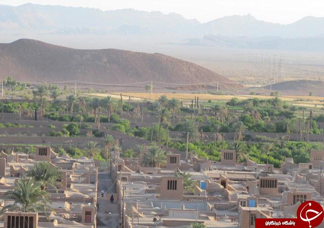 چوپانان؛ منظم ترین روستای خشتی جهان در ایران+ عکس