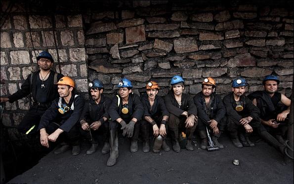 دشواری فراتر از کار در معدن