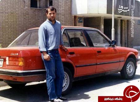 خودروی دوران جوانی علی پروین