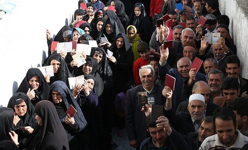 Image result for انتخابات مشارکت مردم در