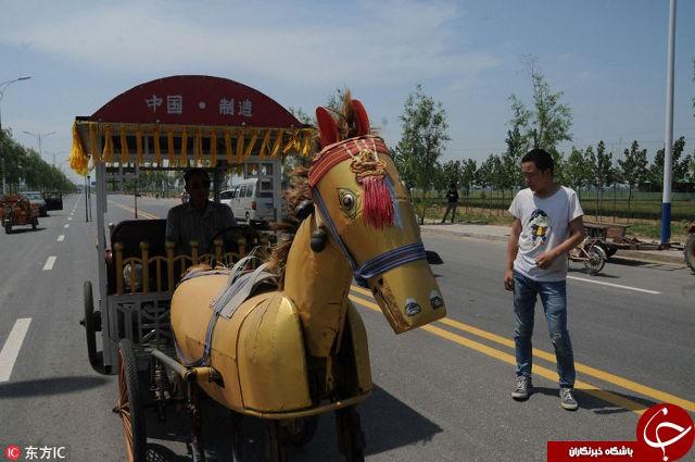 ابتکار جالب و دیدنی کشاورز چینی + تصاویر