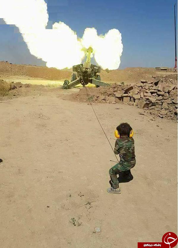 کوچکترین نیروی امنیتی عراق+ تصاویر