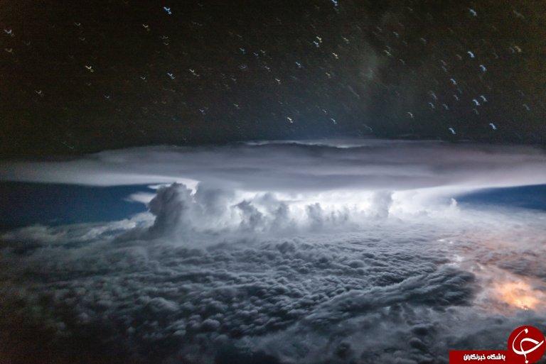 تصاویر شگفت انگیزی که از کابین خلبان گرفته شده است