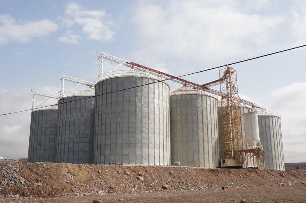 افزایش ظرفیت ذخیره گندم سیلوهای استان