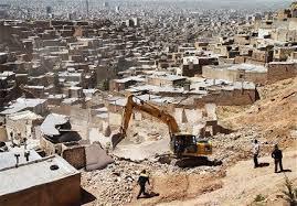 خانههای ناامن برروی گسل تبریز