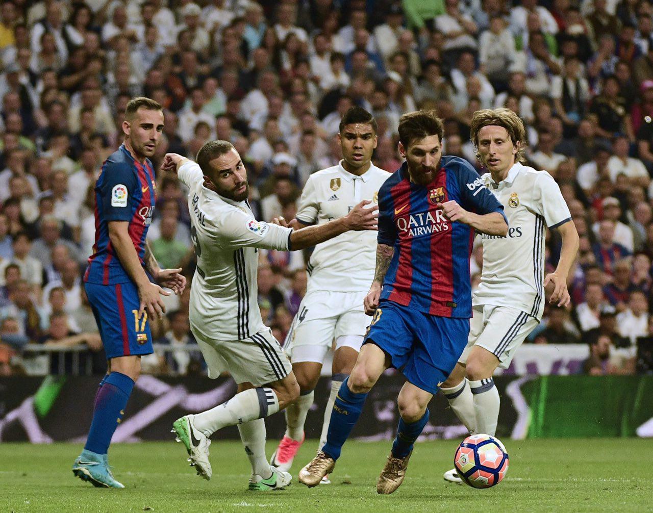 رئال مادرید 1 - بارسلونا 2