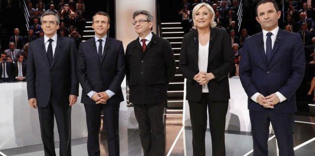 حمایت مقام های اروپایی ا ماکرون نامزد انتخابات فرانسه