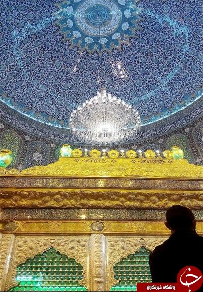 بازگشایی ضریح جدید حرم مطهر امامین عسکریین (ع) +تصاویر