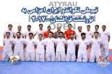 باشگاه خبرنگاران -تیمملی تکواندو مردان بر سکوی قهرمانی ایستاد