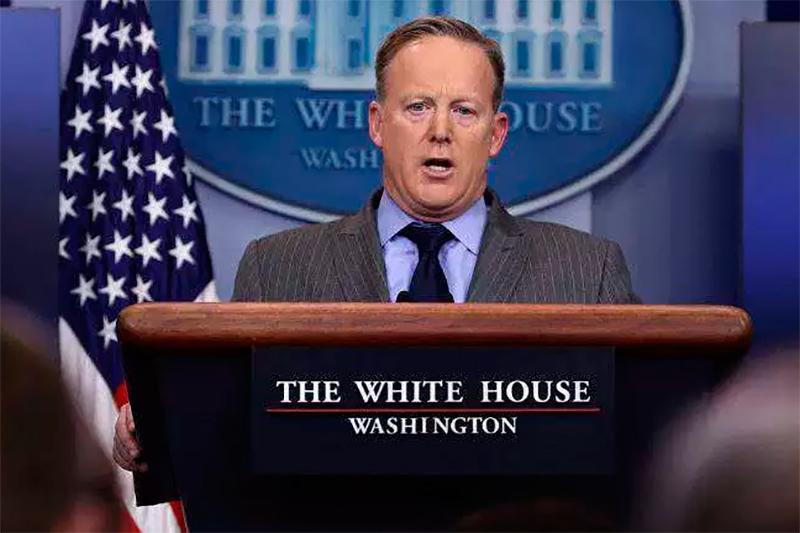 گزافه گویی سخنگوی کاخ سفید: را تحریم کردیم تا نشان دهیم از سر اعمال آنها نمی گذریم!